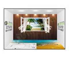 3D Epoxy Wallpapers and Floor Coatings Universal Services Pakistan