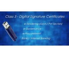 Buy Class 3 Digital Signature Certificate At Best Price