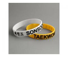 Taekwondo Cheap Wristbands No Min.