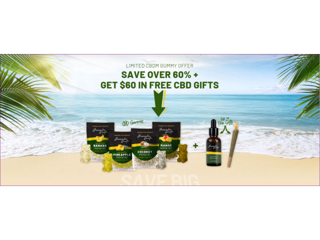 Jamaica Smooth CBD Gummies Reviews: Benefits, Ingredients, Price and Where to Buy?
