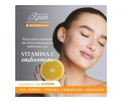 Refuerzate con Vitamina C endovenosa