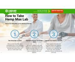 Hemp Max Lab Gummies CA : Reviews, Hemp Ex Oil, Benefits, Price and Where To Buy!