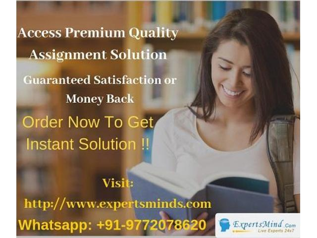 Acquire the top-notch grades by hiring apt tutors from Expertsminds!