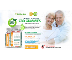 Nutrition Wise CBD Gummies Reviews -{UK} Dragons Den, 300 MG, Price Buy