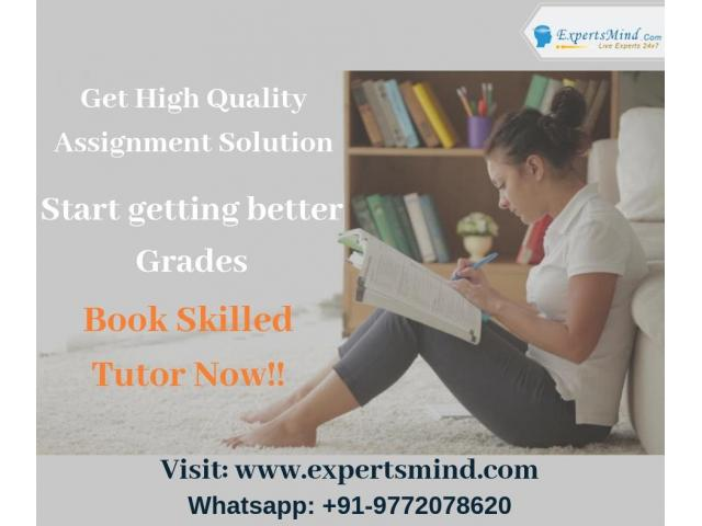 Premium Assignment Help Services At Affordable Price!