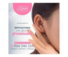 Aproxima las orejas a la cabeza - Clínica Renacer