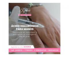 Ácido hialurónico para manos
