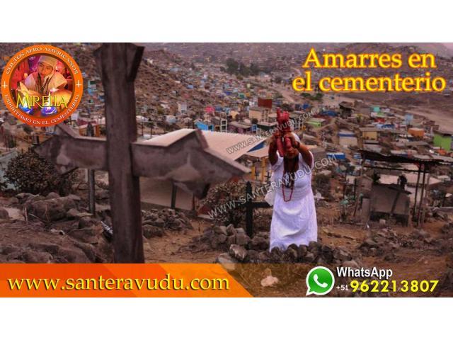 AMARRES DE AMOR EN ESPAÑA SANTERA VUDU MIRELLA
