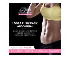 Logra el six pack abdominal