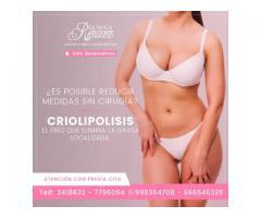 Elimina la adiposidad con Criolipolisis