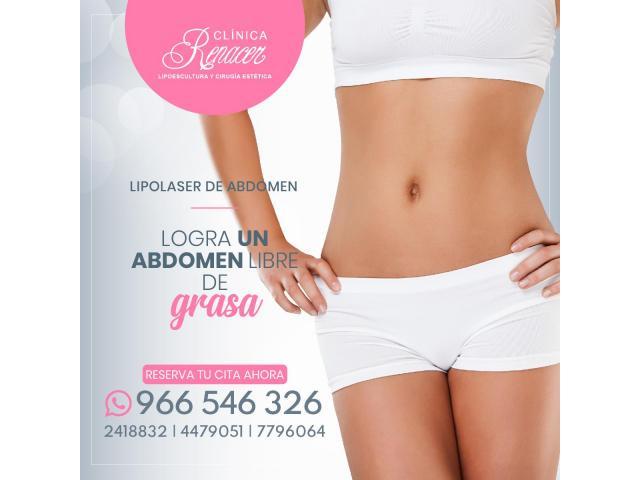Elimina la grasa abdominal - Clínica Renacer