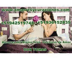 Unión de parejas  Amarres de amor efectivos