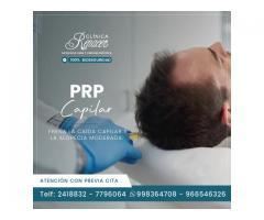 ¿En qué consiste el PRP capilar?