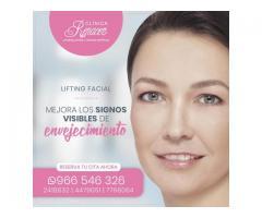 Eleva y tensa la piel del rostro - Clínica Renacer