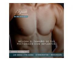 Prótesis de Pectorales en Hombres.