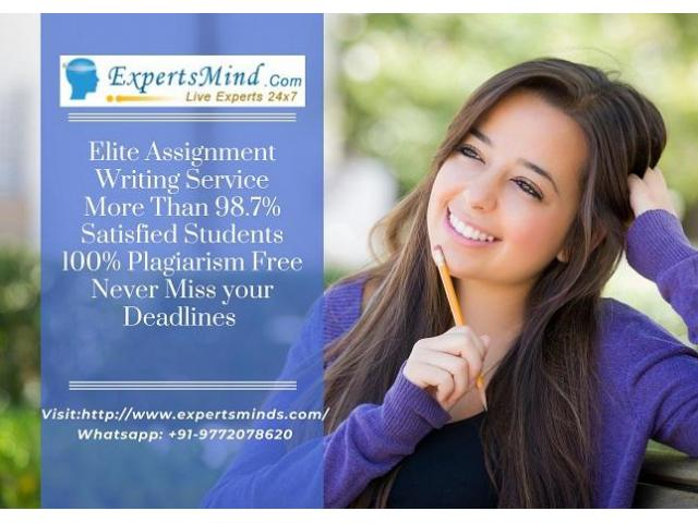 The Best Assignment Help and Homework Help Service Is Provided at Your Single Click Away From You!