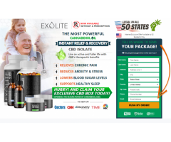 ExoLite CBD Oil– Best To Maintain Overall Health & Wellbeing!