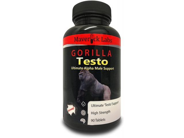 Gorilla Flow Male Performance, Energy Enhancement Pills!