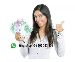 PRÉSTAMOS RÁPIDO Y SEGURO : +34 (602 323 874 )