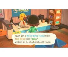 Kids, Work and Nook Miles Ticket
