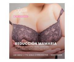 Cirugía de reducción de mamas.