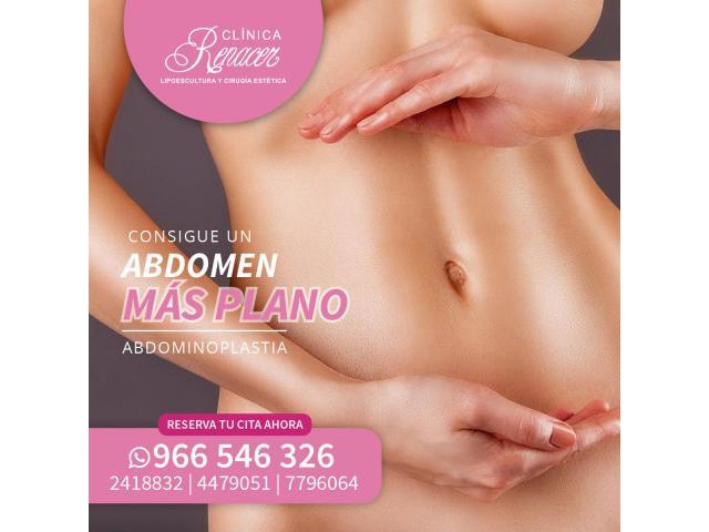 Recupera la firmeza del abdomen - Clínica Renacer
