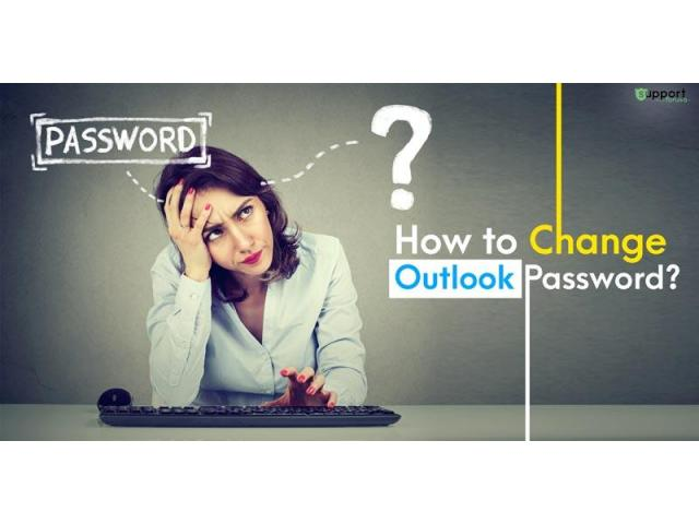 How to Change Outlook.com Password?