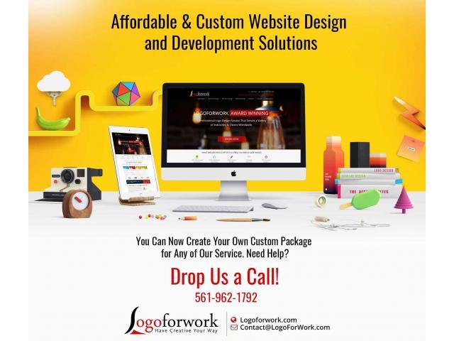 Best offer Custom Website Design Happy New Year 2019