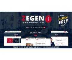 Zegen - Church WordPress Theme by zozothemes