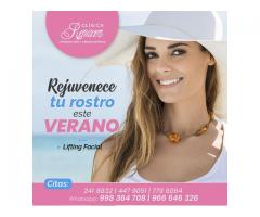 Reduce la flacidez facial - Clínica Renacer