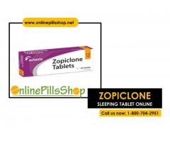 Order Online Zopiclone 7.5 mg to treat restlessness