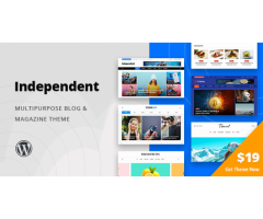 Independent – Multipurpose Blog & Magazine WordPress Theme