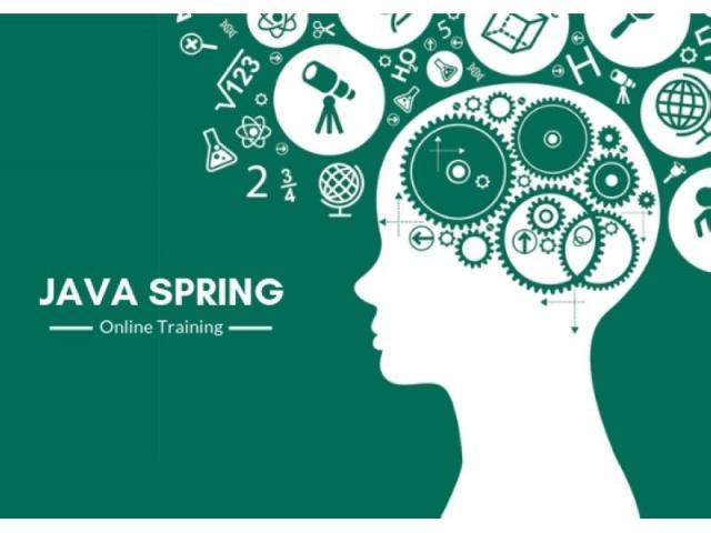 100% Job Oriented Java Spring Training Online @ FREE DEMO !!!