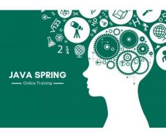 100% Job Oriented Java Spring Training Online @ FREE DEMO !!!