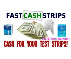Cash For Diabetic Test Strips