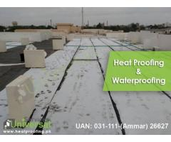 Best Heat Proofing And Water Proofing Service Entire Karachi Pakistan