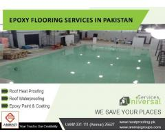 Best Rates Epoxy Flooring Services in All over Pakistan