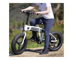 MaxFoot Electric Bike(The benefits of fat tires)