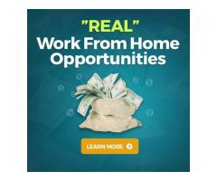 """Real"" work from home opportunities"