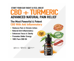 What is Plant Pure Turmeric CBD Oil?