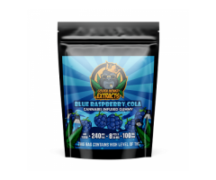 Golden Monkey Extracts – Blue Raspberry Cola THC:CBD