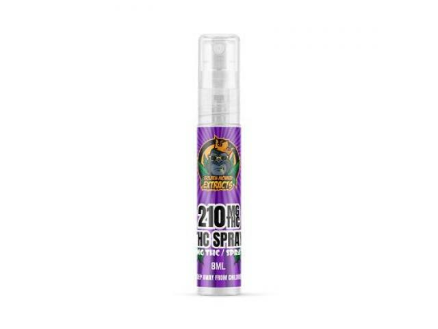 Golden Monkey Extracts Sublingual THC Spray (210mg THC)