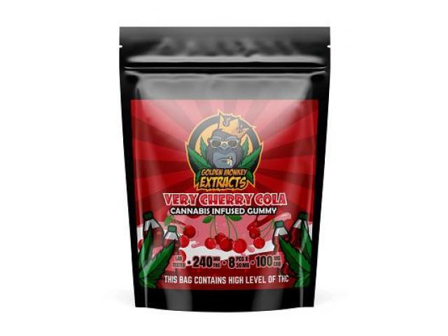 Golden Monkey Extracts – Cherry Cola THC:CBD