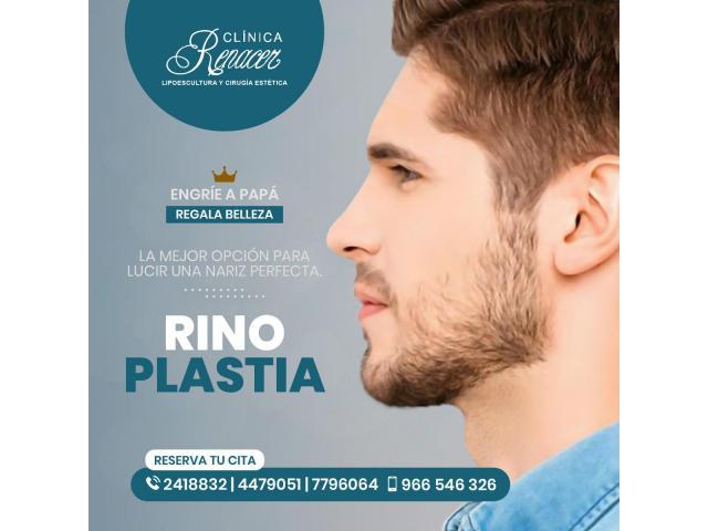 Afina el perfil de tu nariz - Clínica Renacer