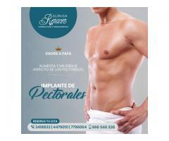 Realza el músculo pectoral - Clínica Renacer