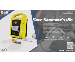 Meditech Defi5 Aed with Lock-out Protection to Prevent Inadvertent Defibrillation