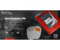Defi5c comes with amazing AED bag and AED pad