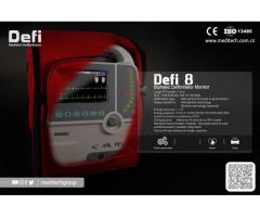 Defi8 Meditech Defibrillator Monitor Professional Heart Shock Device with ECG monitor