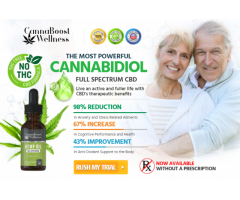 Cannaboost Wellness CBD Reviews : Best Price & Where To Buy ?
